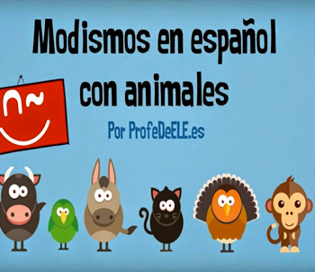Expresiones en español con animales | Edelsa
