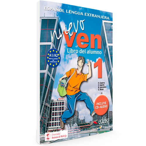 Nuevo Ven 1 - Nivel A1/A2 - Español Lengua Extranjera - Libro del alumno