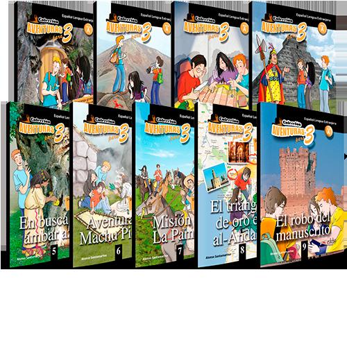 Colección Aventuras para 3 - Lecturas ELE