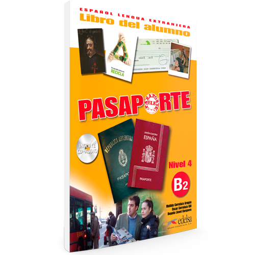Pasaporte ELE B2 - Español Lengua Extranjera
