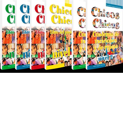 Chicos chicas - ELE - Libro del profesor y Cuaderno de vacaciones y de repaso