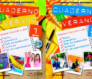Cuaderno de verano | Español lengua extranjera | Edelsa