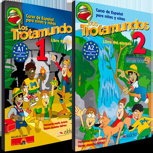 Los Trotamundos - Curso de Español para niños y niñas - Libro del alumno