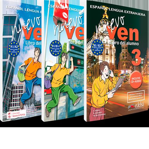 Nuevo Ven - Español Lengua Extranjera - Libro del alumno