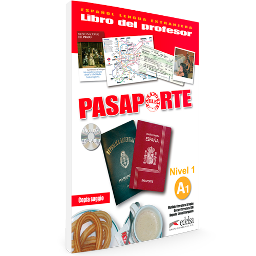 Pasaporte ELE A1 - Nivel 1 - Español Lengua Extranjera - Libro del profesor