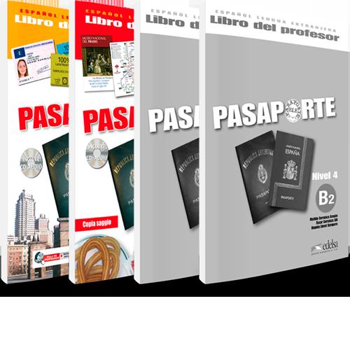 Pasaporte - Español Lengua Extranjera - Libros del profesor