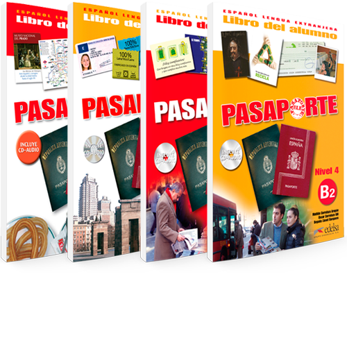 Pasaporte ELE - Español Lengua Extranjera