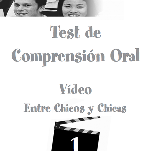 Test de comprensión oral – Profesor