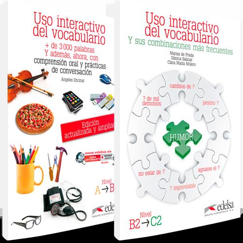 Uso interactivo del vocabulario ELE Niveles A - B1, B2 - C2