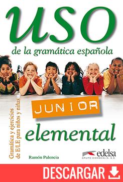 Uso de la gramática española junior elemental - libro del profesor - descarga gratuita