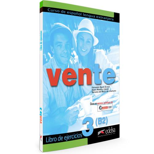 Vente 3 libro de ejercicios | Español lengua extranjera | Edelsa