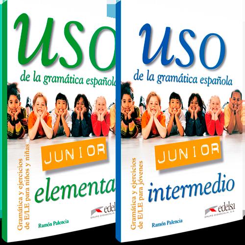 Uso de la gramática española junior | Español lengua extranjera | Edelsa