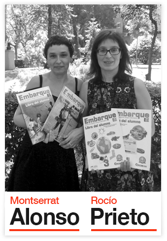 Montserrat Alonso y Rocío Prieto