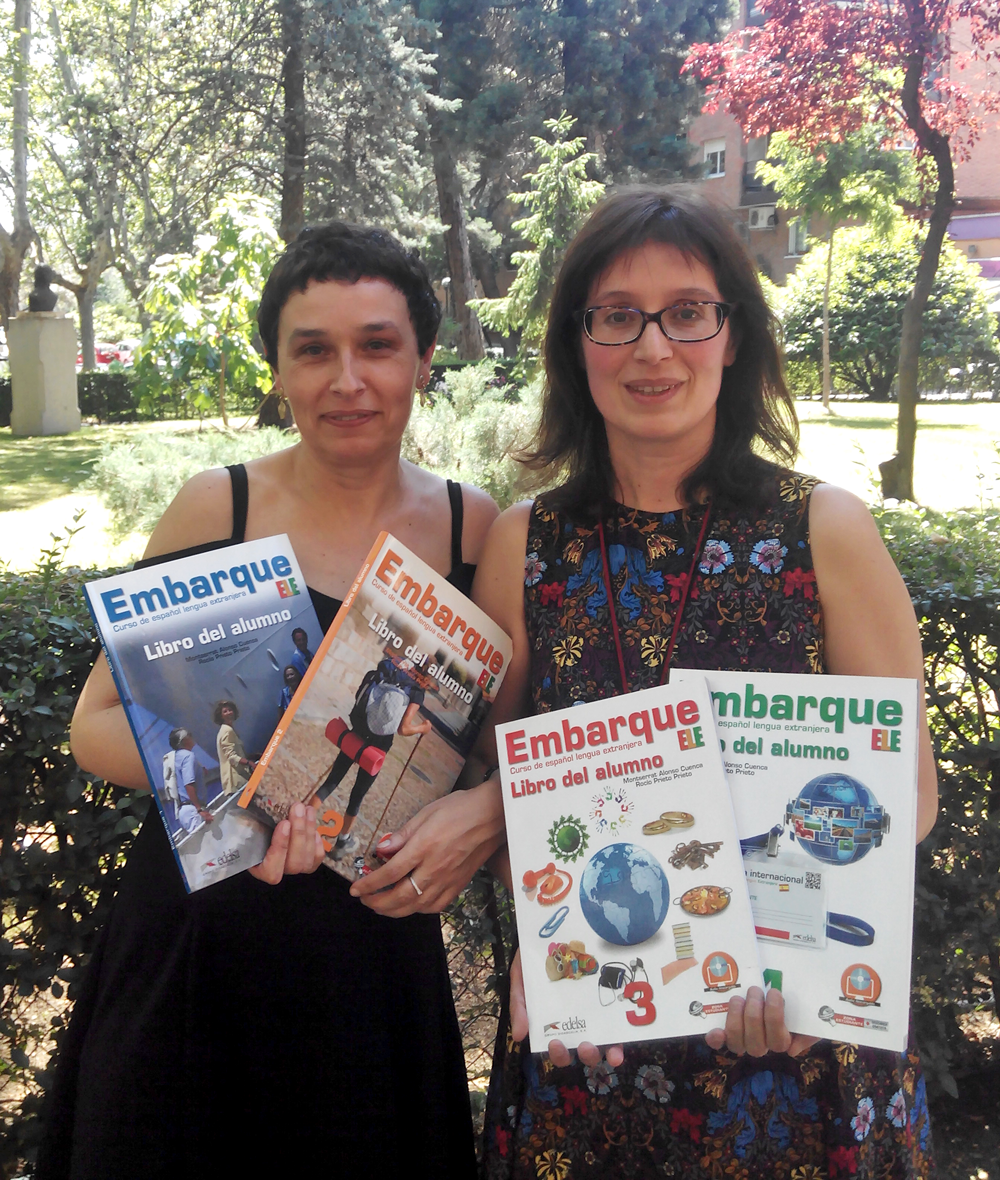 Embarque   Montserrat Alonso y Rocío Prieto   Español lengua extranjera