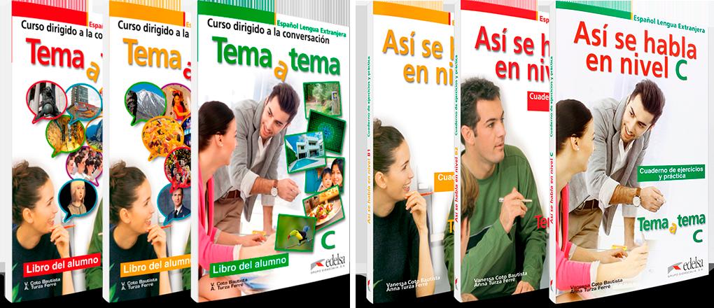 Así se habla y Tema a Tema | Español lengua extranjera