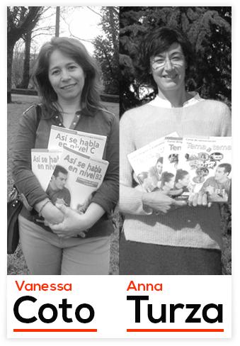 Vanessa Coto y Anna Turza