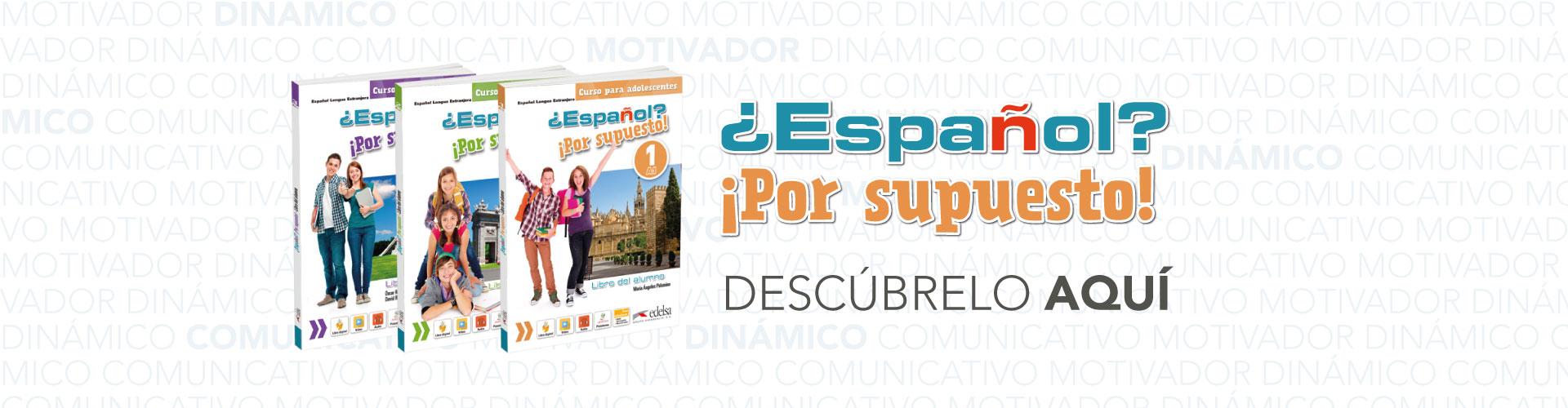 ¿Español? ¡Por supuesto! | ELE