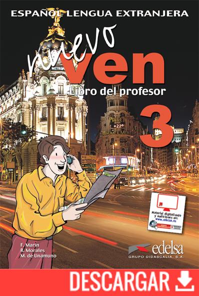 Nuevo ven 3 | Libro del profesor